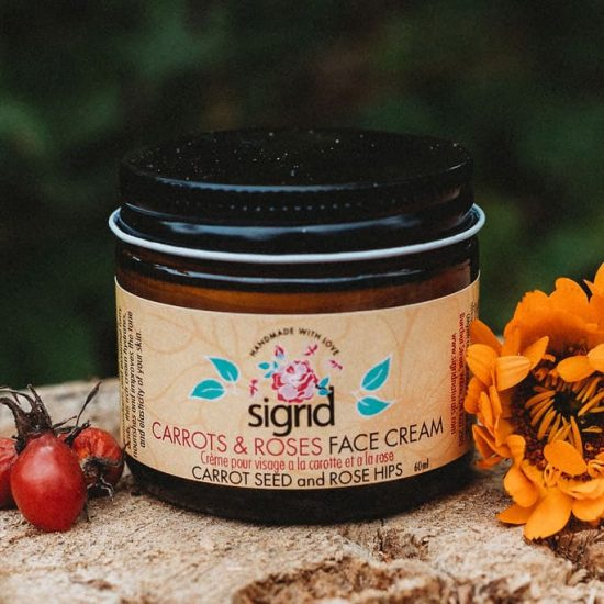 Carrots and Roses Face Cream