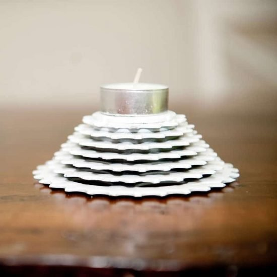 Candle Gears White | The ReCYCLer