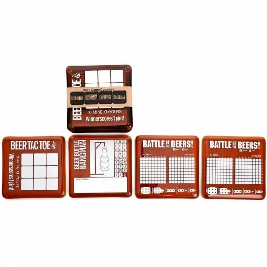 Game Coasters (set of 4)