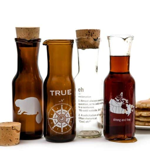 Maple Syrup Carafes Amber