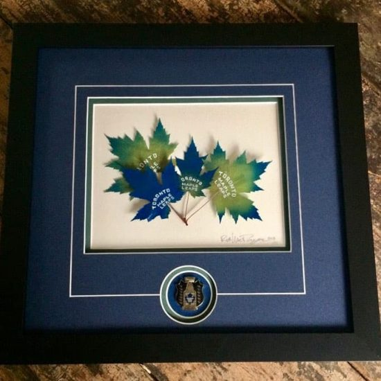 Multi-leaf Montage - NHL Sport Artwork