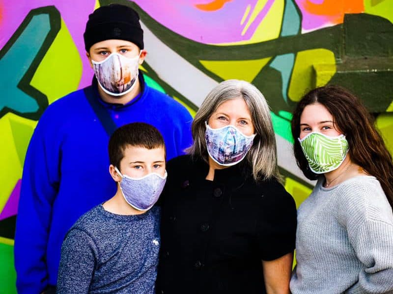 Byom graphic protective masks