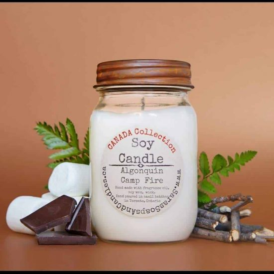 lgonquin Campfire Soy Candle - 13 oz