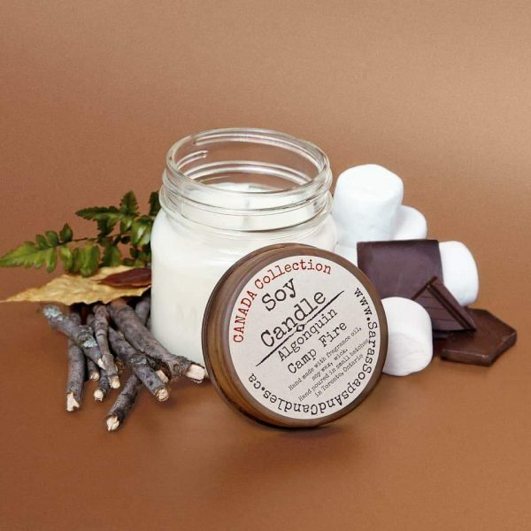 Algonquin Campfire Soy Candle