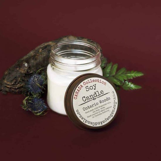 Ontario Woods Soy Candle - 7 oz