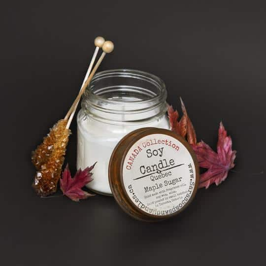 Quebec Maple Sugar Soy Candle - 7 oz
