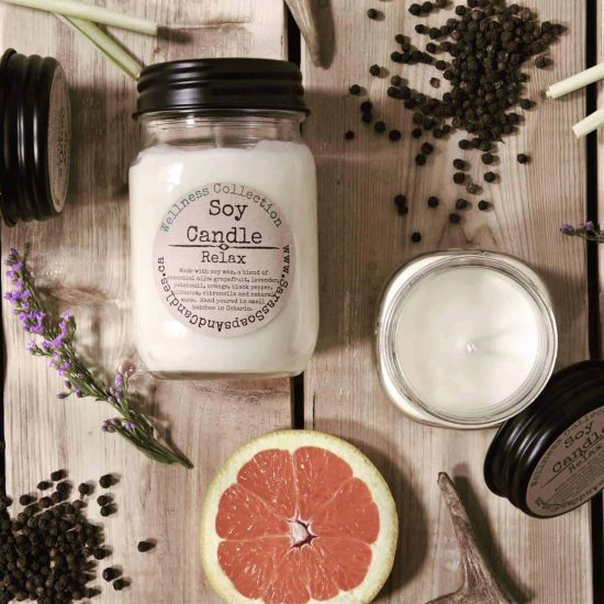 Relax Soy Candle - 13 oz