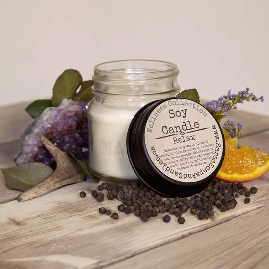 Relax Soy Candle - 7 oz
