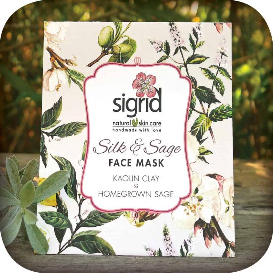 Silk and Sage Clay Face Mask