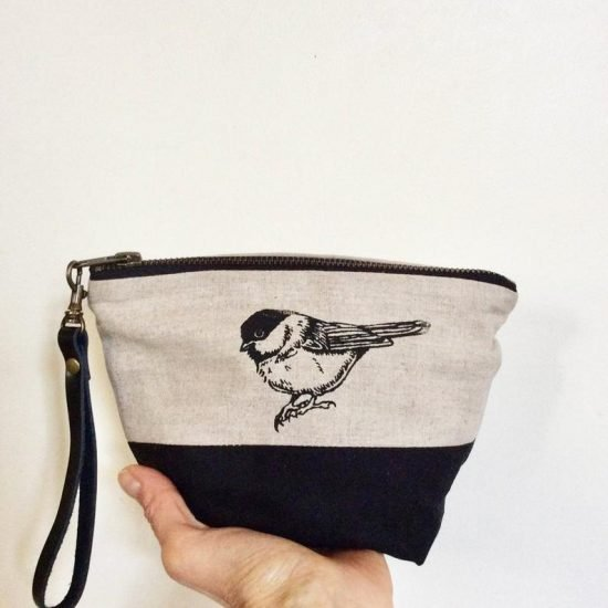Chickadee Travel Bag Pouch