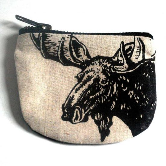 Moose Coin Pouch