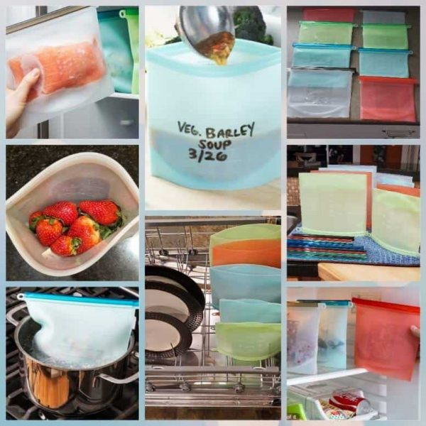 1 set/ 2 Silicone bags ( 1 Medium and 1 Large )