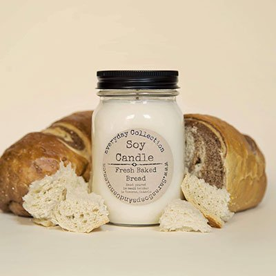 Fresh Baked Bread Soy Candle