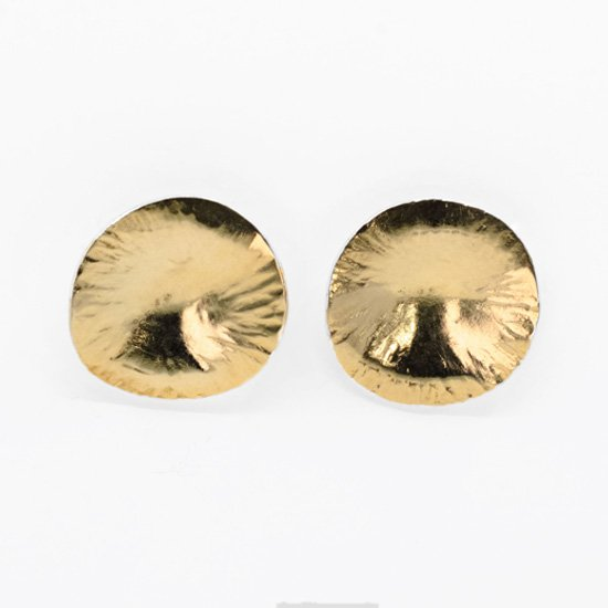 Gold Plated Brass Earring