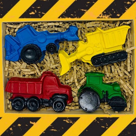 Construction Vehicle Set (Large Set of 4)